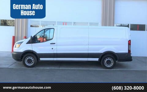 2016 Ford Transit Cargo for sale at German Auto House in Fitchburg WI