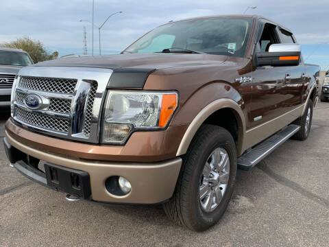 2012 Ford F-150 for sale at Town and Country Motors - 1702 East Van Buren Street in Phoenix AZ
