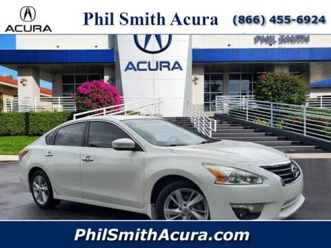 2013 Nissan Altima for sale at PHIL SMITH AUTOMOTIVE GROUP - Phil Smith Acura in Pompano Beach FL