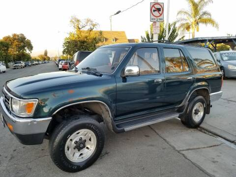 1994 Toyota 4Runner for sale at Olympic Motors in Los Angeles CA