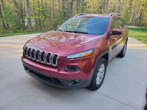 2017 Jeep Cherokee for sale at Patriot Autos in Muskegon MI
