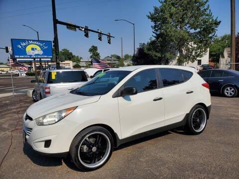 2011 Hyundai Tucson for sale at J Sky Motors in Nampa ID