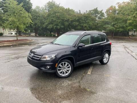 2015 Volkswagen Tiguan for sale at Uniworld Auto Sales LLC. in Greensboro NC