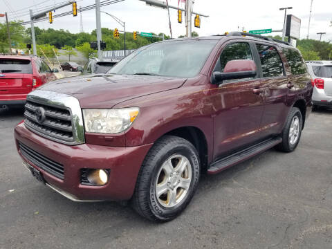 2008 Toyota Sequoia for sale at Cedar Auto Group LLC in Akron OH