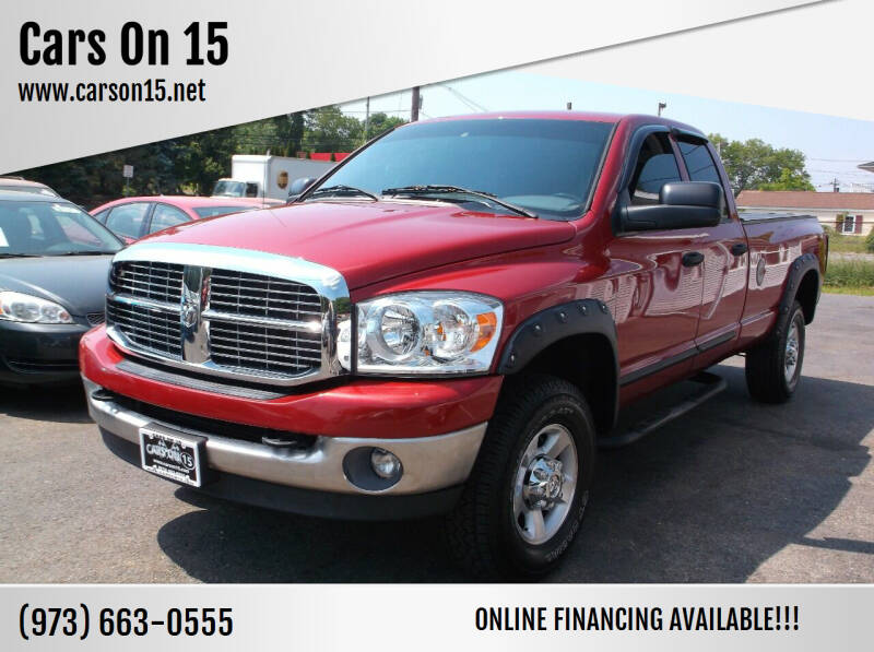 2007 Dodge Ram Pickup 2500 for sale at Cars On 15 in Lake Hopatcong NJ