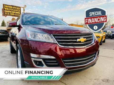 2015 Chevrolet Traverse for sale at 3 Brothers Auto Sales Inc in Detroit MI