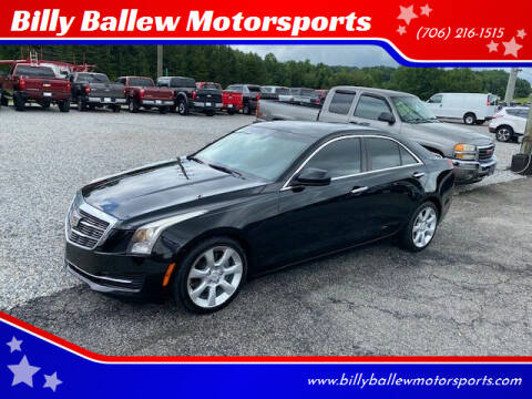 2015 Cadillac ATS for sale at Billy Ballew Motorsports in Dawsonville GA