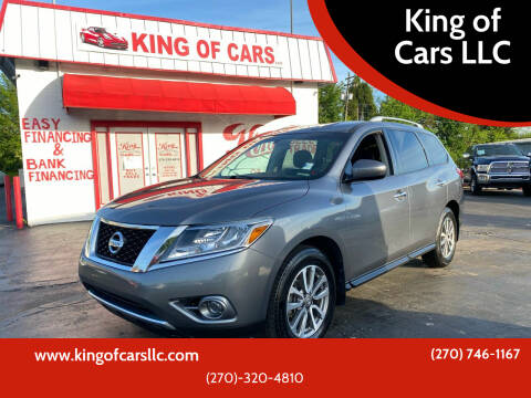 2015 Nissan Pathfinder for sale at King of Cars LLC in Bowling Green KY