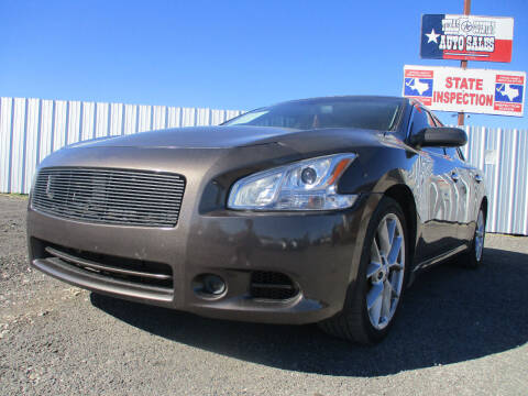 2013 Nissan Maxima for sale at Texas Country Auto Sales LLC in Austin TX