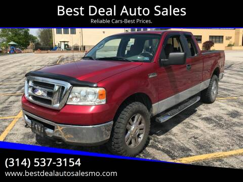 2008 Ford F-150 for sale at Best Deal Auto Sales in Saint Charles MO