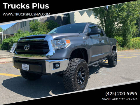 2014 Toyota Tundra for sale at Trucks Plus in Seattle WA