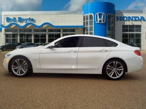 2019 BMW 4 Series for sale at BOB BOYTE HONDA in Brandon MS
