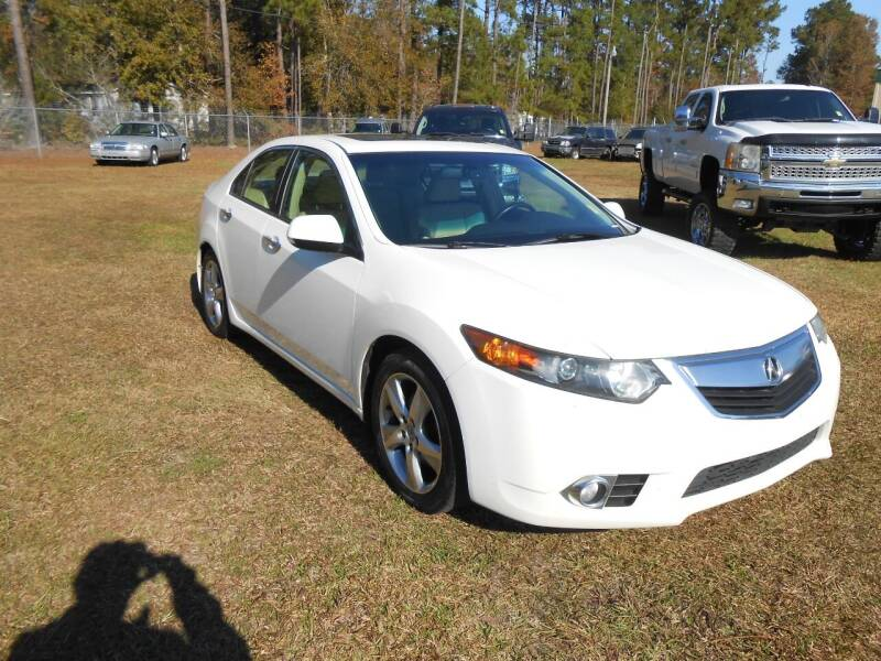 2011 Acura TSX for sale at Jeff's Auto Wholesale in Summerville SC