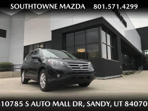 2014 Honda CR-V for sale at Southtowne Mazda of Sandy in Sandy UT
