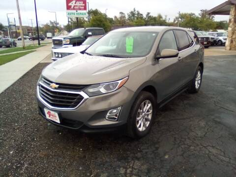 2018 Chevrolet Equinox for sale at Four Guys Auto in Cedar Rapids IA