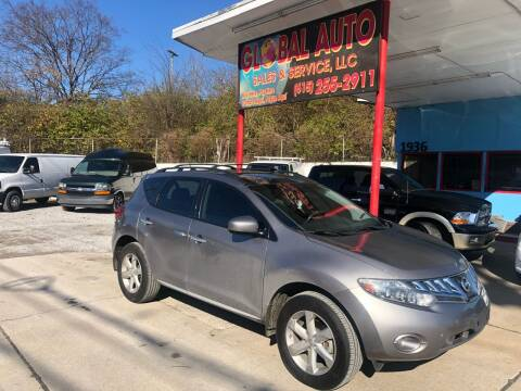 2010 Nissan Murano for sale at Global Auto Sales and Service in Nashville TN