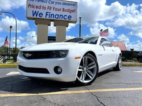 2012 Chevrolet Camaro for sale at American Financial Cars in Orlando FL