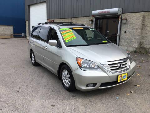 2009 Honda Odyssey for sale at Adams Street Motor Company LLC in Boston MA