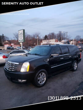 2007 Cadillac Escalade ESV for sale at SERENITY AUTO OUTLET in Frederick MD