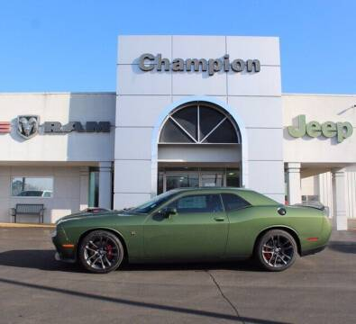 2021 Dodge Challenger for sale at Champion Chevrolet in Athens AL