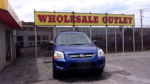 2009 Kia Sportage for sale at LONG BROTHERS CAR COMPANY in Cleveland OH