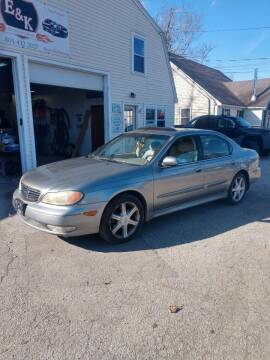 2004 Infiniti I35 for sale at E & K Automotive in Derry NH