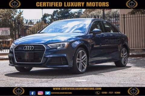 2017 Audi A3 for sale at Certified Luxury Motors in Great Neck NY