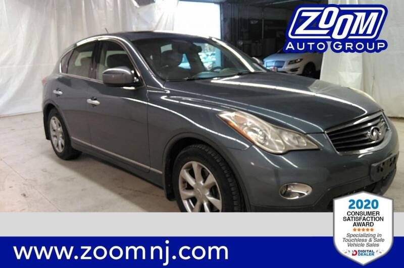 2008 Infiniti EX35 for sale at Zoom Auto Group in Parsippany NJ