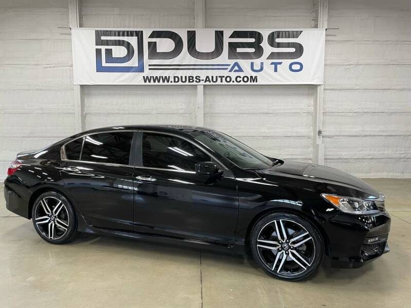 2017 Honda Accord for sale at DUBS AUTO LLC in Clearfield UT