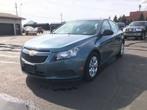 2012 Chevrolet Cruze for sale at Mike's Budget Auto Sales in Cadillac MI