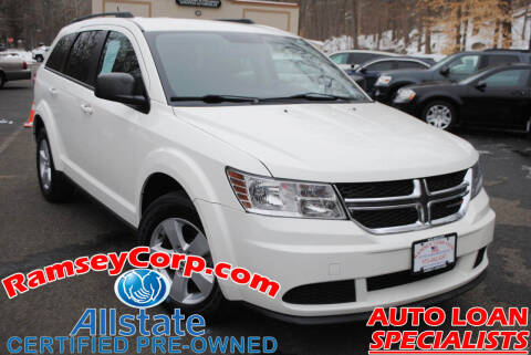2014 Dodge Journey for sale at Ramsey Corp. in West Milford NJ