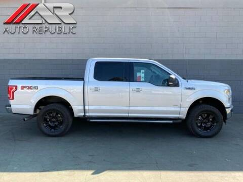 2017 Ford F-150 for sale at Auto Republic Fullerton in Fullerton CA