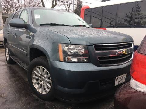 2009 Chevrolet Tahoe for sale at Jeff Auto Sales INC in Chicago IL