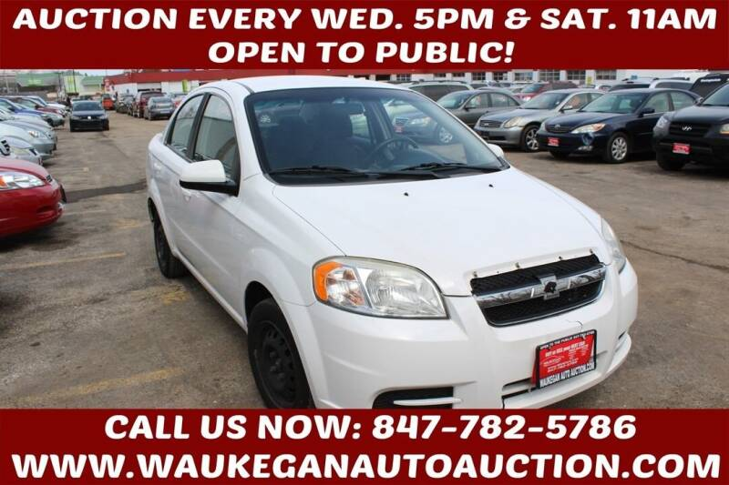 2010 Chevrolet Aveo for sale at Waukegan Auto Auction in Waukegan IL