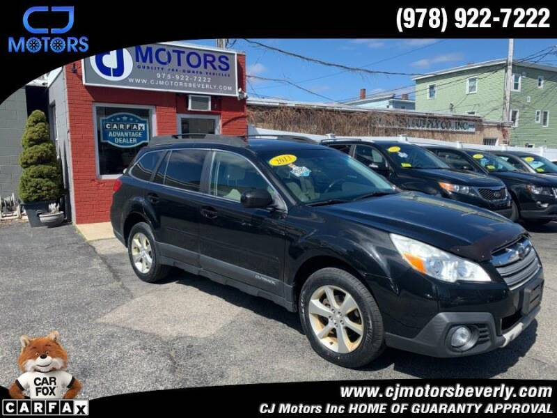2013 Subaru Outback for sale at CJ Motors Inc. in Beverly MA