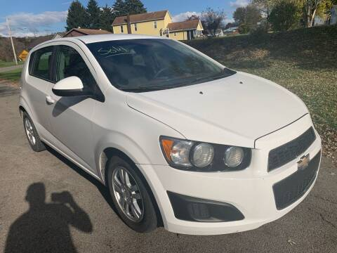 2012 Chevrolet Sonic for sale at Trocci's Auto Sales in West Pittsburg PA