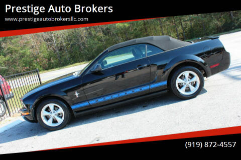 2008 Ford Mustang for sale at Prestige Auto Brokers in Raleigh NC