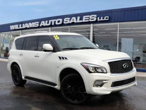 2015 Infiniti QX80 for sale at Williams Auto Sales, LLC in Cookeville TN