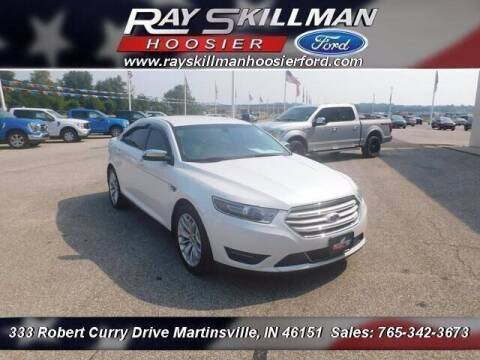 2015 Ford Taurus for sale at Ray Skillman Hoosier Ford in Martinsville IN