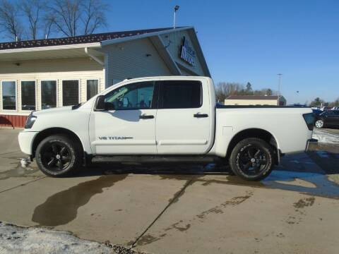 2014 Nissan Titan for sale at Milaca Motors in Milaca MN