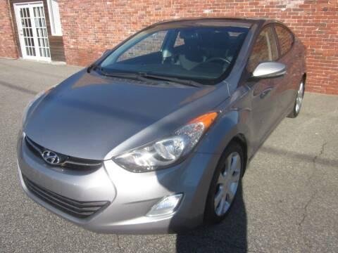 2012 Hyundai Elantra for sale at Tewksbury Used Cars in Tewksbury MA