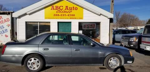 2004 Cadillac DeVille for sale at ABC AUTO CLINIC - Chubbuck in Chubbuck ID