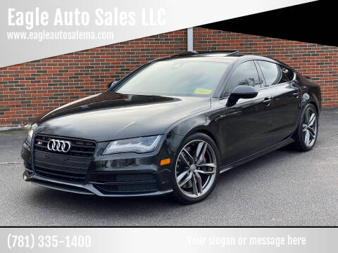 2015 Audi S7 for sale at Eagle Auto Sales LLC in Holbrook MA