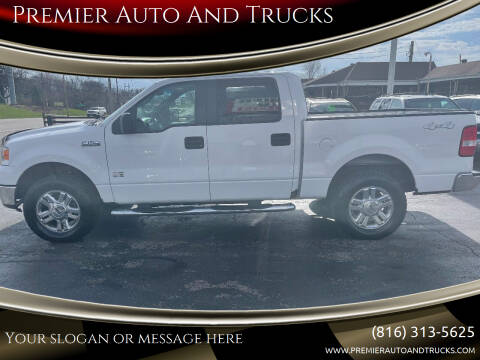 2008 Ford F-150 for sale at Premier Auto And Trucks in Independence MO