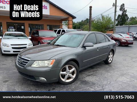 2009 Hyundai Sonata for sale at Hot Deals On Wheels in Tampa FL