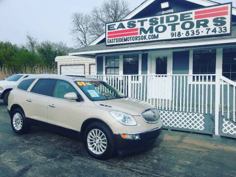 2008 Buick Enclave for sale at EASTSIDE MOTORS in Tulsa OK