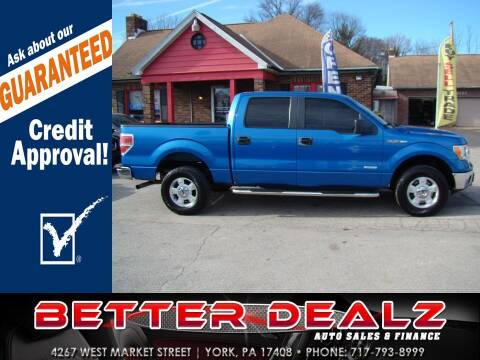 2014 Ford F-150 for sale at Better Dealz Auto Sales & Finance in York PA
