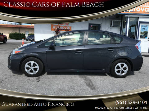 2015 Toyota Prius for sale at Classic Cars of Palm Beach in Jupiter FL