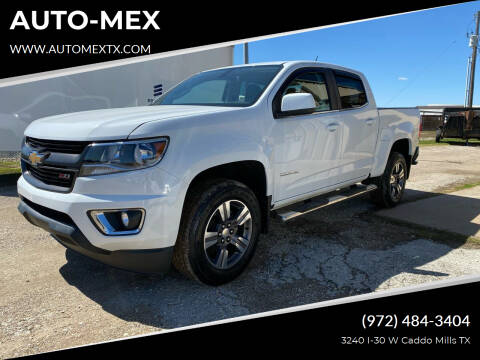 2017 Chevrolet Colorado for sale at AUTO-MEX in Caddo Mills TX