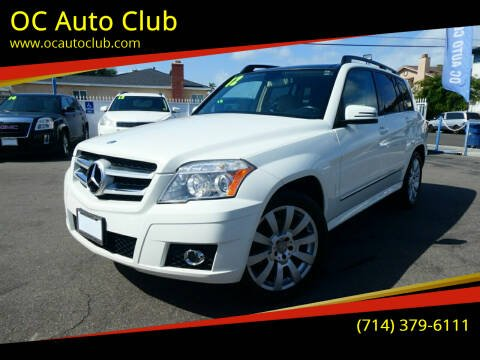 2012 Mercedes-Benz GLK for sale at OC Auto Club in Midway City CA